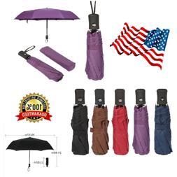 Mini Travel Automatic Umbrella 3 Folding Compact Rain Windpr