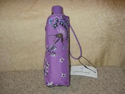 Vera Bradley Mini Travel Umbrella BNWT Lavender Dandelion
