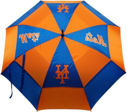 "Team Golf MLB New York Mets 62"" Golf Umbrella with Protectiv"