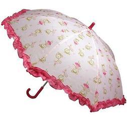 Monkey Ballerina All-Over Print Children's Umbrella