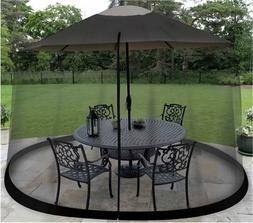 Mosquito Net Canopy Patio Table Umbrella Outdoor Yard  Garde