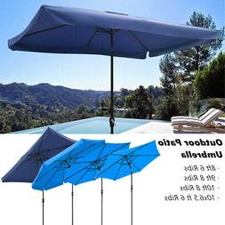 Navy Blue Outdoor Patio Umbrella Alu 8ft 9ft 10ft Common Bea