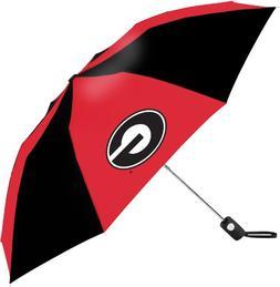 NCAA Georgia Bulldogs Automatic Folding Umbrella