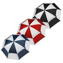 "NEW BagBoy 62"" Telescopic Wind Vent Umbrella Double Canopy -"