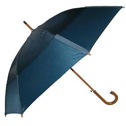 New GustBuster Auto Open Vented Stick Umbrella with Hook Han