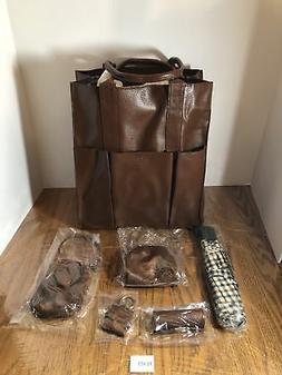 New Buxon Tall Handbag with Umbrella, Cell Phone Case, Lipst