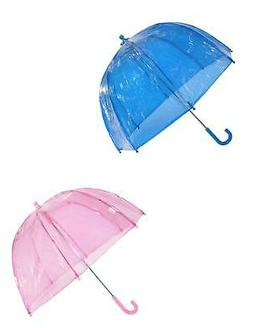 new kids clear bubble umbrella pack of