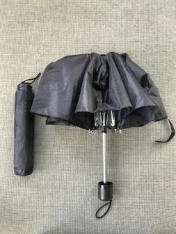 "New Travel Umbrella 8 Ribs Rain 42"" Expanded - Black"