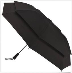 New Samsonite Windguard Mini Automatic Black Umbrella Wind R