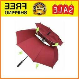 New Windproof Golf Umbrella, 62/68 inch Large Umbrella for 6
