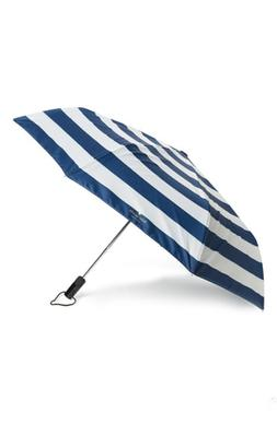 Kate Spade New York Compact Travel Umbrella - Blue