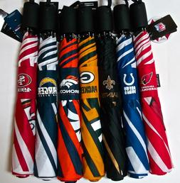 "NFL Travel Automatic Umbrella 42"" By Totes~Choose Your Team"