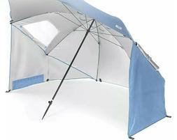 NIB 9 FT Sport-Brella Premier XL Vented SPF 50 Sun & Rain Ca