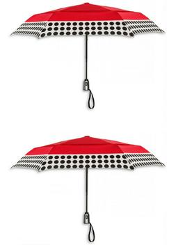 NWT 2 ShedRain Cirra Polka Dot Red Auto Open Close Airvent C