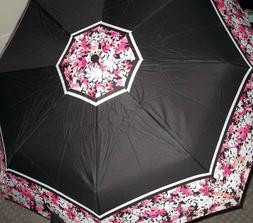 NWT Kensie 42 inch  Full Size Pop Open Floral Print Umbrella
