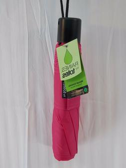 """NWT RAINES by TOTES Manual Umbrella Large 42""""- 48"""" Coverage"""