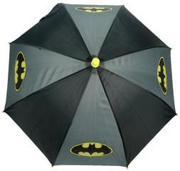 Official Batman Logo Kids Boys Childrens School Rain Umbrell