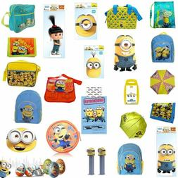 Official Despicable Me Minions Back to School Wallets Duvet
