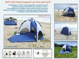 One-Step Push Up Instant beach tent Sun Shelter