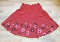 Organic Cotton Ladies Umbrella Skirt Onyxstar UK 14 Floral B