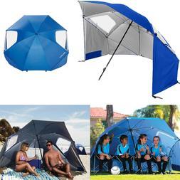 Outdoor Beach Umbrella Canopy Sun Shade Protection Portable