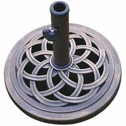 Cast Stone Umbrella Base, Made from Rust Free Composite Mate