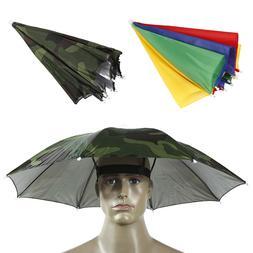 Outdoor Fishing Caps Portable Head <font><b>Umbrella</b></fo