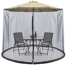 Outdoor Mosquito Net Umbrella Bug Screen Canopy 9Ft Patio Ga