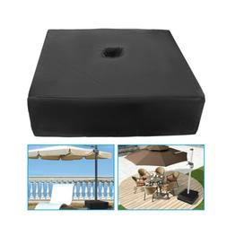 "For Outdoor Umbrella Base Stand Patio Garden 18"" Square Umbr"