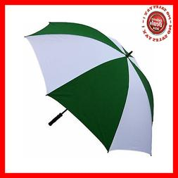 RainStoppers 68-Inch Oversize Windproof Golf Umbrella Black/