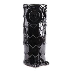 Zuo Modern Zuo Owl Umbrella Stand Black
