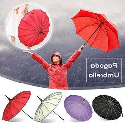 Pagoda Parasol Wind-proof /Waterproof Umbrella Wedding Bride