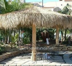 Palapa Mexico Palm Leaf Thatch 12' Round Umbrella Cover Comm