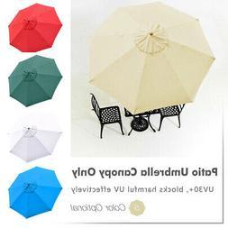 Patio Umbrella Canopy Top Cover Replacement Market Beach Umb