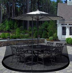Patio Umbrella Cover Mosquito Mesh Net Table Deck Insect Bug