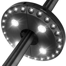 Patio Umbrella Light LATME Cordless 28 LED Night Lights 3 Li