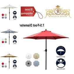 Patio Umbrella Outdoor Garden Table Market Waterproof Polyes