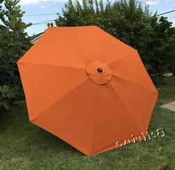 Patio Umbrella Top Canopy Replacement Cover fit 9 ft 8 ribs