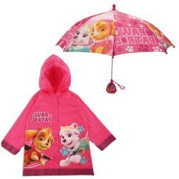 Nickelodeon Paw Patrol Slicker and Umbrella Rainwear Set, Li
