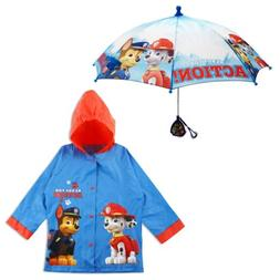 Nickelodeon Paw Patrol Slicker and Umbrella Rainwear Set, Li