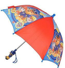 Paw Patrol Umbrella Little Toddler Boys Kids Dog Puppy Red B