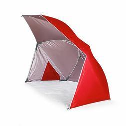 Picnic Time Family  Brolly Beach Umbrella Tent,