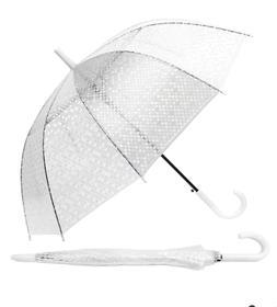 Polka Dot Clear See Thru Premium Umbrellas