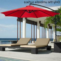 Polyester Replacement Cover Parasol Canopy Sun Umbrella Keep
