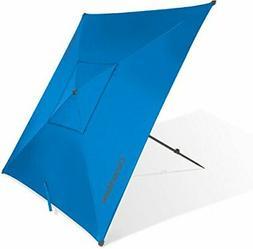 Portable 5' Outdoor Beach Umbrella For Sun Shade and Wind Pr