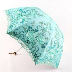 Portable Compact Travel Sun Pocket Umbrellas Uv Protection D