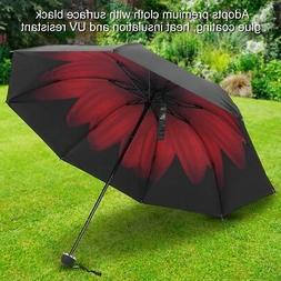 Portable Folding Rain Umbrella Anti-UV Windproof Sun Protect
