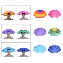 Portable <font><b>Umbrella</b></font> Hat Waterproof Sun Sha