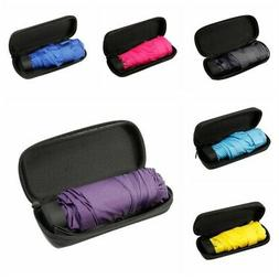 Portable Folding Capsule Umbrella Mini Light Small Pocket Um
