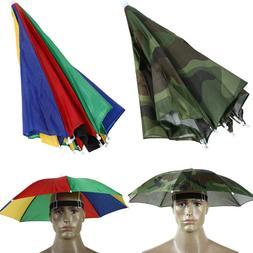 Portable Outdoor <font><b>Umbrella</b></font> Hat Practical